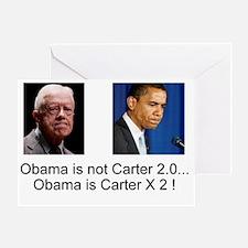 Carter X 2 Greeting Card