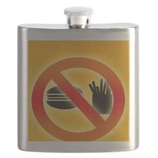 No fast food sign Flask