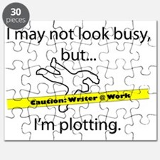 Beware: Plotting Writer Puzzle