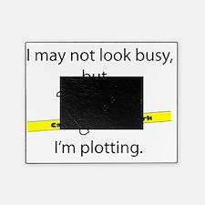 Beware: Plotting Writer Picture Frame