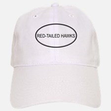 Oval Design: RED-TAILED HAWKS Baseball Baseball Cap