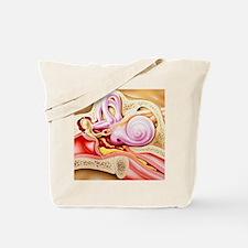 Otitis media of ear Tote Bag