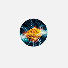 Alzheimer's disease Mini Button