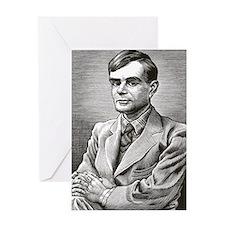 Alan Turing, British mathematician Greeting Card