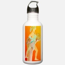 Abstract artwork of os Water Bottle