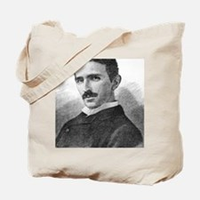 Nikola Tesla, Serb-US physicist Tote Bag