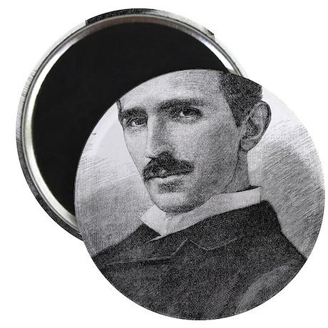 Nikola Tesla, Serb-US physicist Magnet