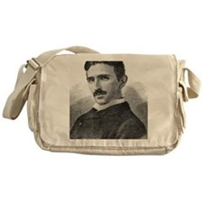 Nikola Tesla, Serb-US physicist Messenger Bag