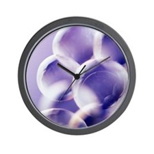 Soap bubbles Wall Clock
