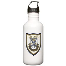 uss leahy cg patch tra Water Bottle