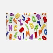 Alphabet Rectangle Magnet