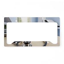 Stethoscope License Plate Holder