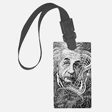Albert Einstein, German physicis Luggage Tag