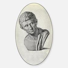 Aristotle, Ancient Greek philosophe Decal