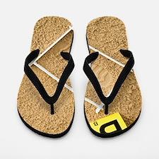Shoe print evidence Flip Flops