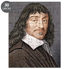 Rene Descartes, French mathematician Puzzle