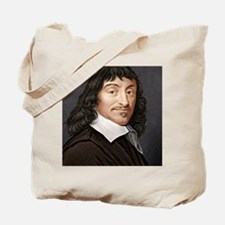 Rene Descartes, French mathematician Tote Bag