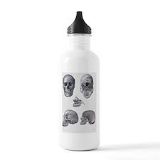 Skull anatomy Water Bottle
