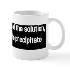 not solution precipitate (BS-W) Small Mug