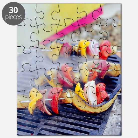 Barbecuing vegetables Puzzle