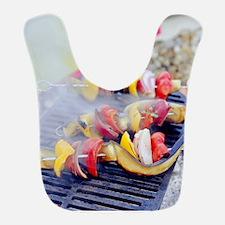 Barbecuing vegetables Bib