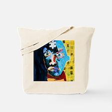 Abstract artwork of man depicting mental  Tote Bag
