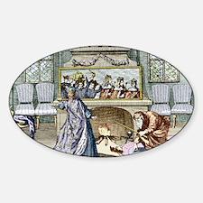 Nostradamus's Magic Mirror Sticker (Oval)