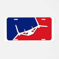 Major League Assault Large Aluminum License Plate