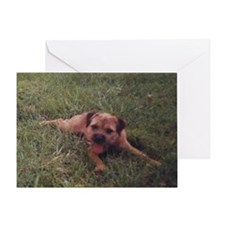 BT puppy Greeting Card