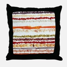 Nuts, beans and seeds Throw Pillow