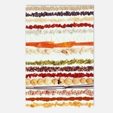 Nuts, beans and seeds Postcards (Package of 8)