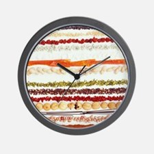Nuts, beans and seeds Wall Clock