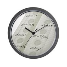 Allergy patch test Wall Clock