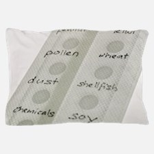Allergy patch test Pillow Case
