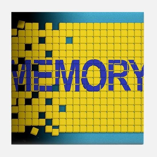 Alzheimer's disease Tile Coaster