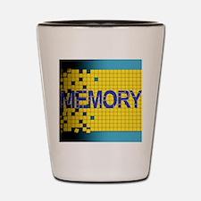 Alzheimer's disease Shot Glass