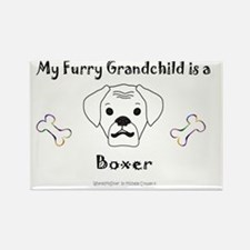 boxer - more breeds! Rectangle Magnet