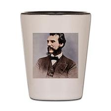Alexander Graham Bell, telephone pionee Shot Glass
