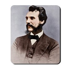 Alexander Graham Bell, telephone pioneer Mousepad