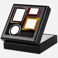 Alzheimer's disease, conceptual image Keepsake Box