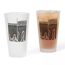 Scaly skin Drinking Glass
