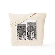 Scaly skin Tote Bag