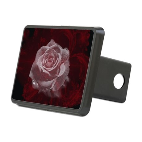 Fantasy Rose Rectangular Hitch Cover