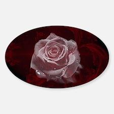 Fantasy Rose Sticker (Oval)
