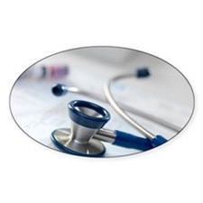 Stethoscope Decal