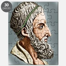 Archimedes, Greek mathematician Puzzle