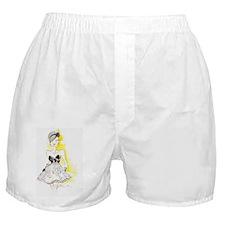 frenchy girl Boxer Shorts