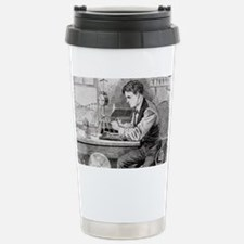 Thomas Edison, US inventor Travel Mug