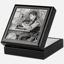 Thomas Edison, US inventor Keepsake Box