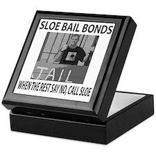 Sloe Bail Bonds Keepsake Box